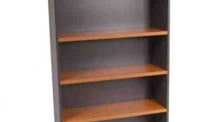 m_Banksia BSB189 High Bookcase Cherry